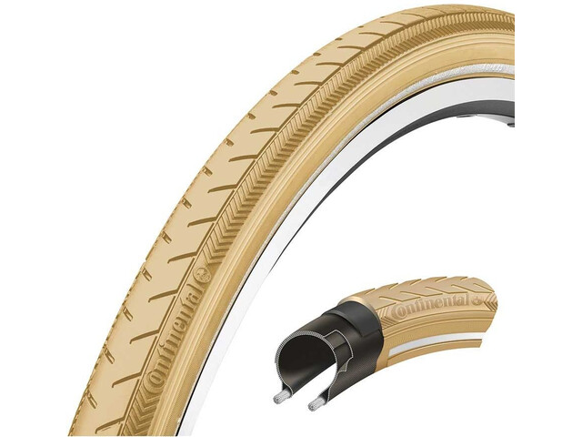 "Continental Ride Classic Bike Tire 28"" E-25 beige"